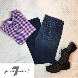 """7 For All Mankind """"A"""" Pocket Bootcut Jeans"""